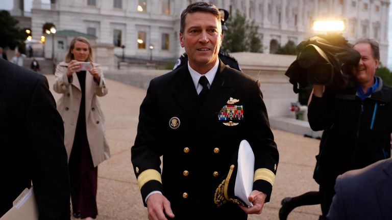 Ronny Jackson is now running for Congress in Texas