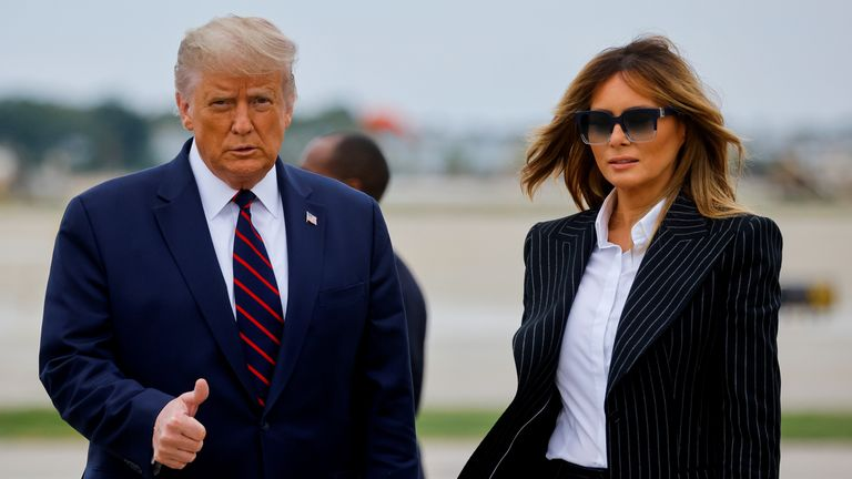 Donald and Melania Trump have tested positive for coronavirus
