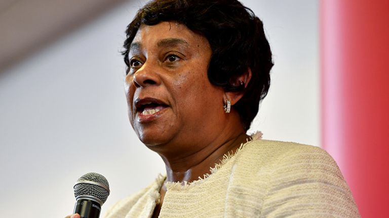 Baroness Lawrence said the impact on BAME communities has been 'generations in the making'