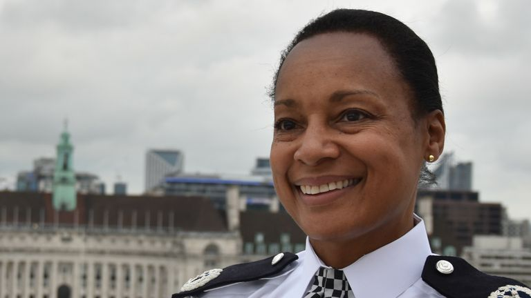 "Commander Dr Alison Heydari, the highest-ranking black female officer in the UK, says: ""Sislin's achievements mean a great deal to me'"