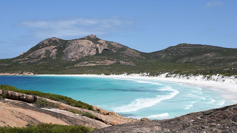 The suspected shark attack took place near the town of Esperance in southwest Australia