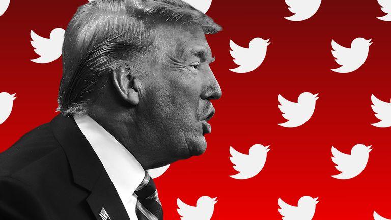 Trump twitter graphic
