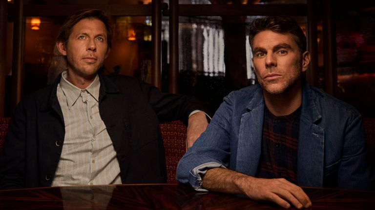 Andy Cato (left) and Tom Findlay of Groove Armada