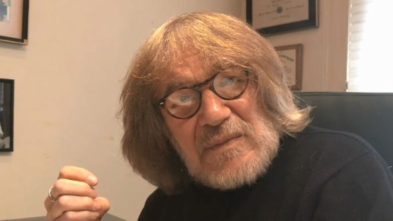 Dr Harold Bornstein was Donald Trump's doctor for nearly 40 years. Pic: NBC News