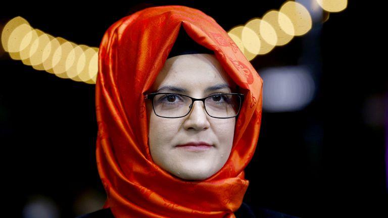The lawsuit has been brought by Hatice Cengiz, Mr Khashoggi's fiancee