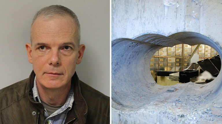 'Basil' has been ordered to pay back almost £6m from the Hatton Garden heist
