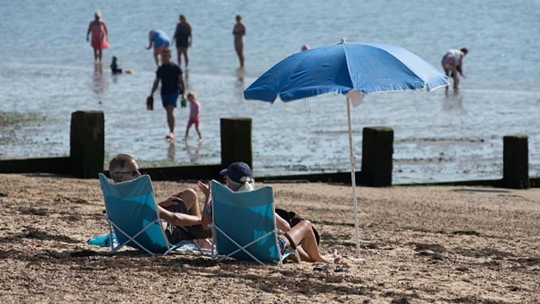 Surface temperatures were 0.5C above average in September