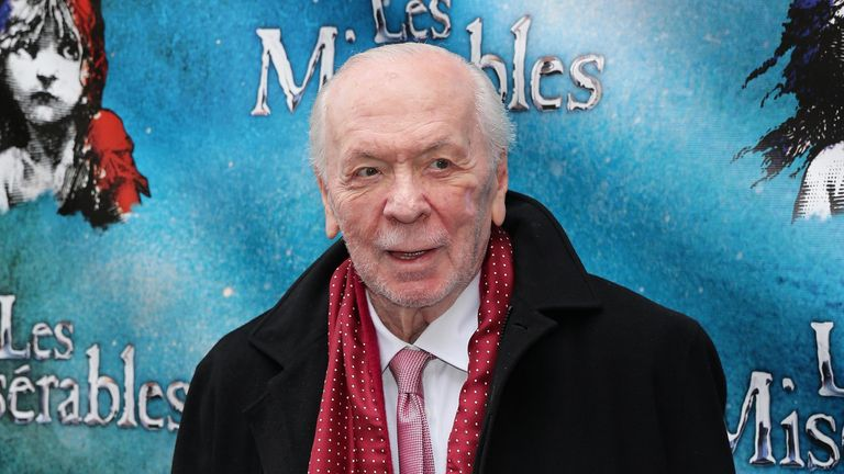 Herbert Kretzmer attends the Les Miserables On Broadway Opening Night>> at Imperial Theatre on March 23, 2014 in New York City