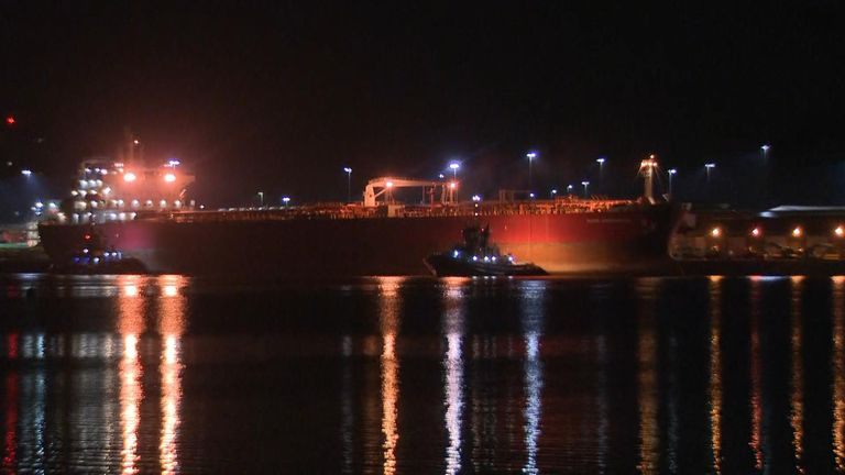 Special forces end suspected hijacking on tanker off Isle of Wight