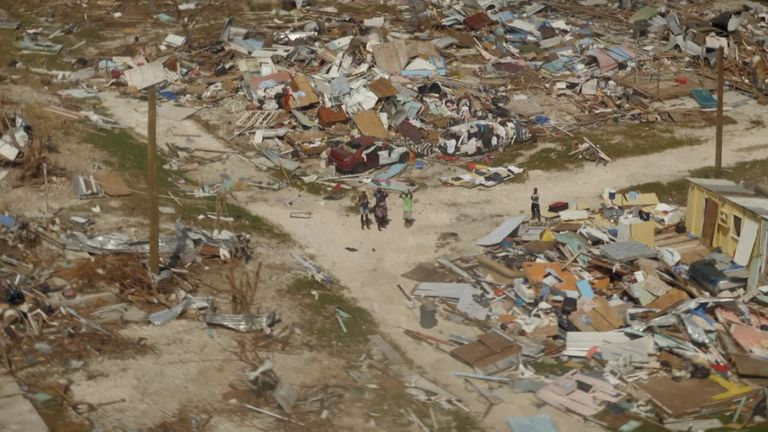 In 2019, Hurricane Dorian hammered the Bahamas. Entire communities were left homeless, as the hurricane ravaged the islands. Our team visited an unnamed town which was home to 2,000 people - but was completely destroyed