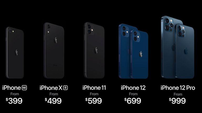 The new iPhone 12 range