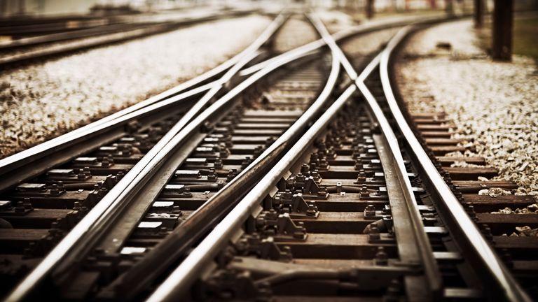 You can hear a train through the tracks more quickly than through the air