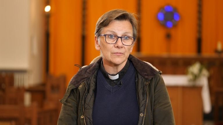 Canon Jan Gould says she has seen a rise in suicide rates in her area
