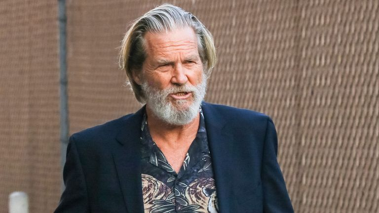 Jeff Bridges announced his diagnosis on Twitter