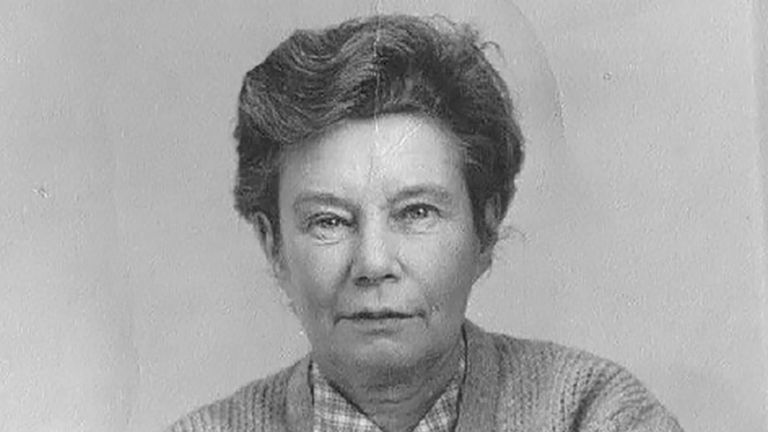 Joan drove ambulances in London during World War Two