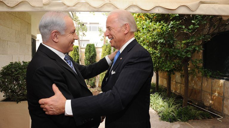 A Trump win would be preferable for Mr Netanyahu - although his relationship with Mr Biden spans decades