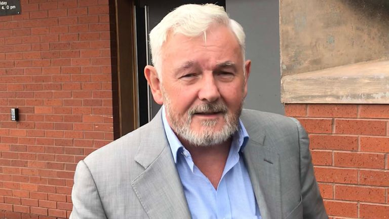 John Gilligan was one of six people arrested