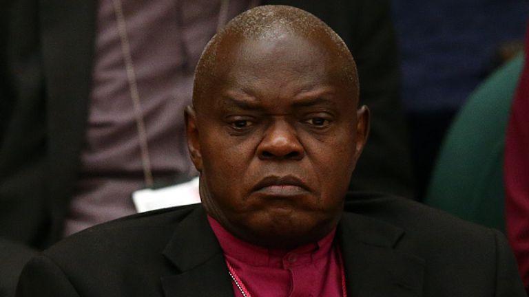 John Sentamu, 71, stepped down as Archbishop of York on 7 June