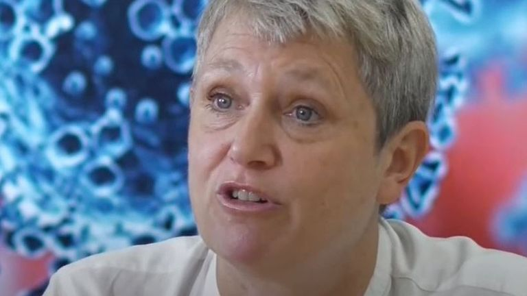 Kate Bingham points out that there are no vaccines for any human coronavirus