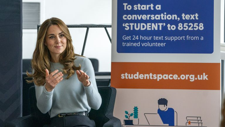 Kate asked whether there had been 'increased awareness' of the mental health help available