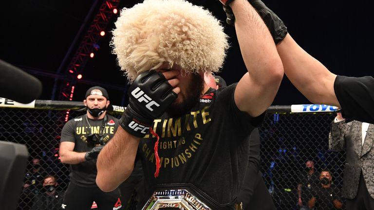 Khabib (Pic: UFC Twitter)