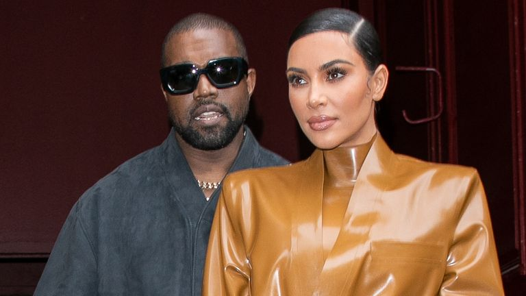 Kardashian West said she had to help her husband out of bed when he was ill