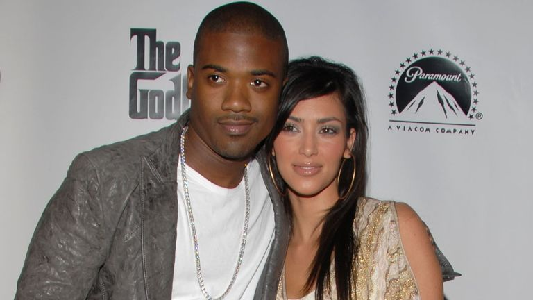 Kim Kardashian and Ray J in 2006