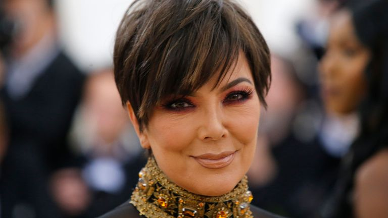 Kris Jenner, Keeping Up With The Kardashians 'momager'