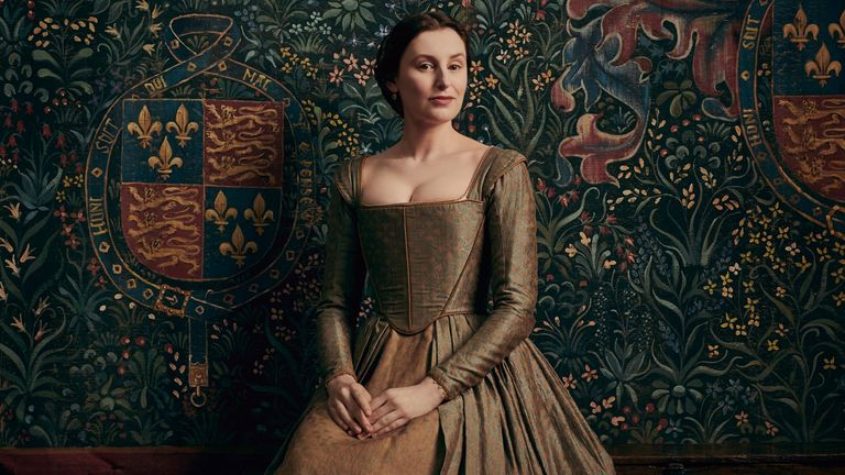 Laura Carmichael in The Spanish Princess. Pic: Lionsgate