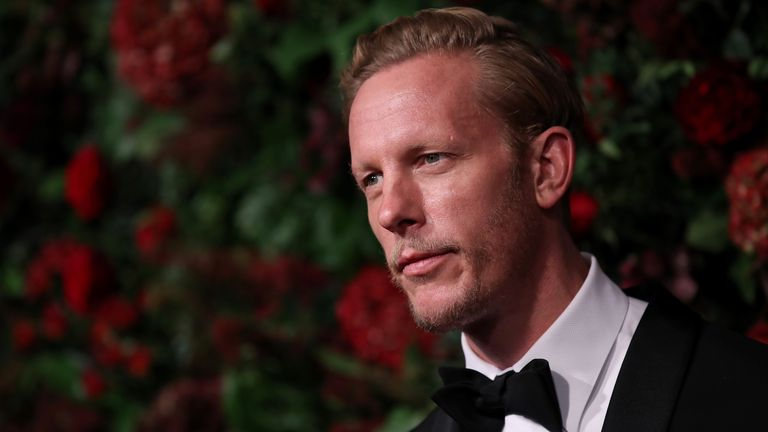Laurence Fox attends the 65th Evening Standard Theatre Awards at the London Coliseum on November 24, 2019 in London