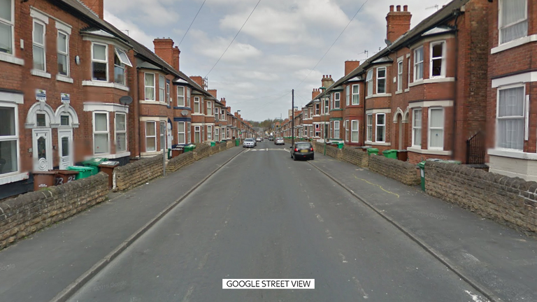The party was on Kimbolton Avenue, in the Lenton area of Nottingham