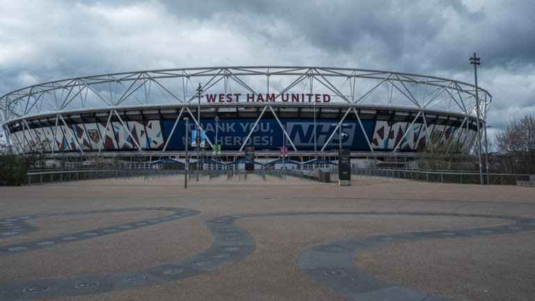 Two men were arrested at the London Stadium and another two summoned to court later on