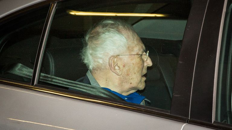 Lord Greville Janner died in 2015, aged 87