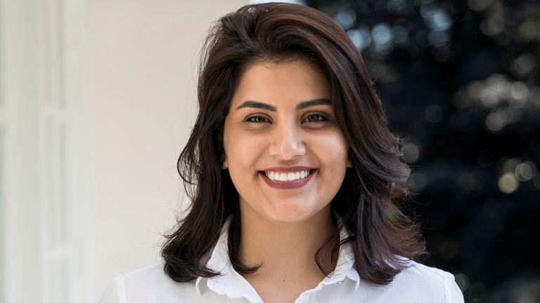 Saudi women's rights activist Loujain al Hathloul