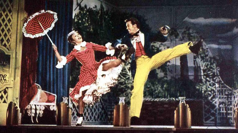 Champion dances with her husband in Show Boat in 1951