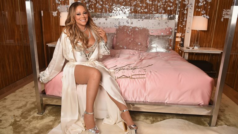 MAC Cosmetics Mariah Carey Beauty Icon Launch at Baccarat Hotel on December 3, 2016 in New York City