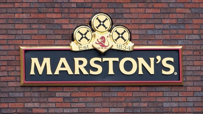 File photo 03/04/08 of Marston's Park Brewery in Wolverhampton.