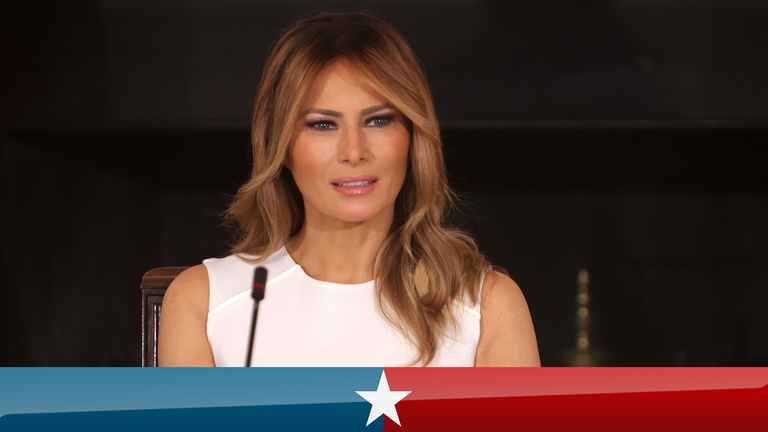 Melania Trump will not travel with her husband to a campaign event