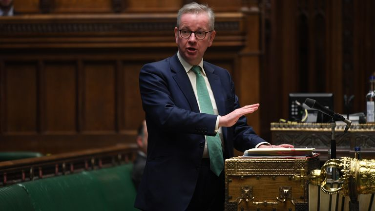 Michael Gove MP Pic: UK Parliament/Jessica Taylor
