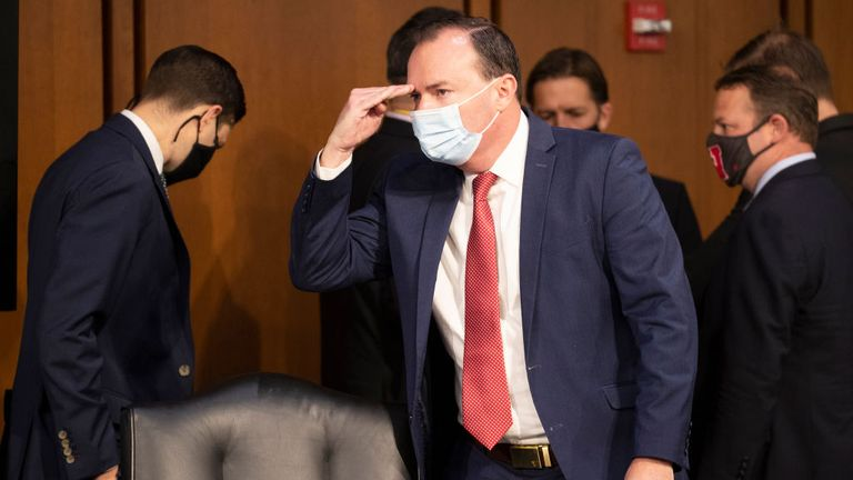 Mike Lee tested positive for coronavirus after the Rose Garden event
