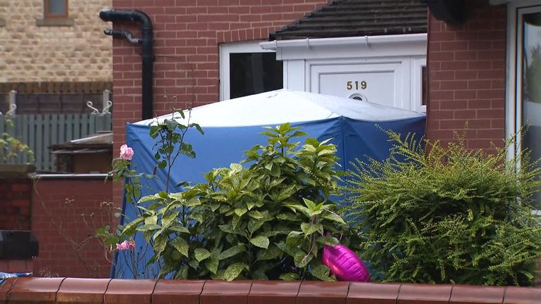 Dr Saman Mir Sacharvi, 49, and Vian Mangrio, 14, were found dead inside their fire and smoke-damaged house in Burnley, Lancashire