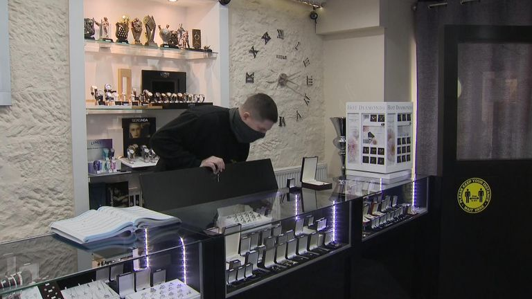 Jeweller Steven McGhee says he will defy any order to close