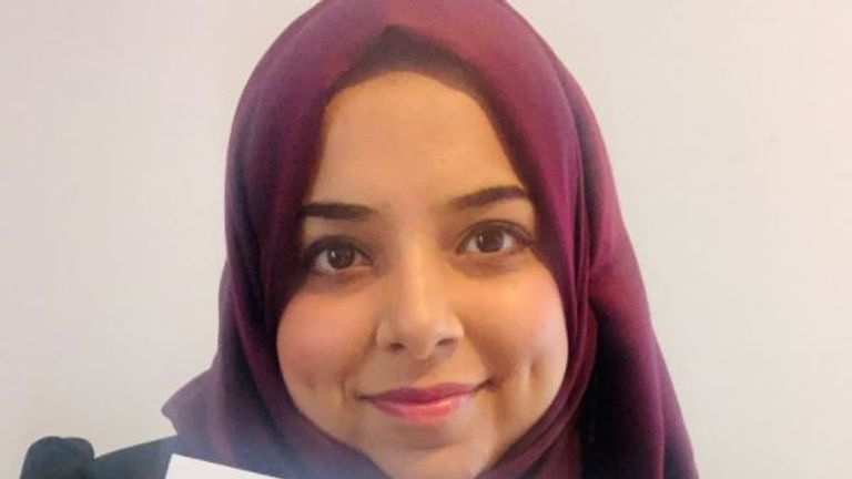 Apsana Begum is the MP for Poplar and Limehouse in East London. Pic: Twitter/@ApsanaBegumMP
