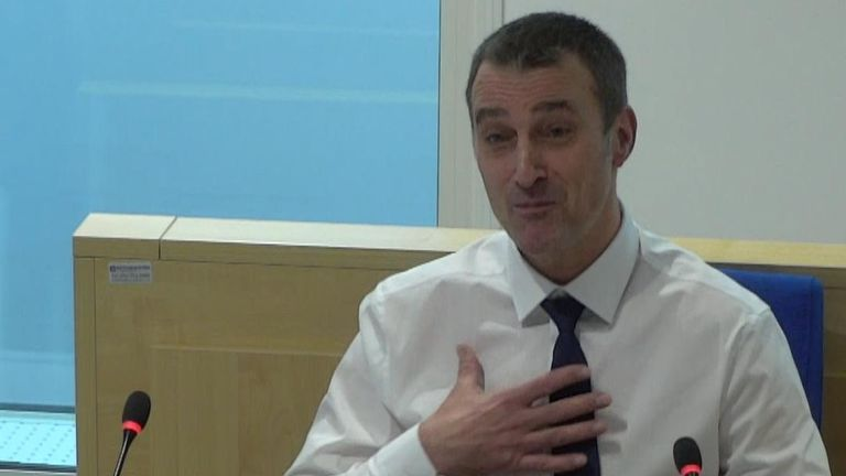 Manchester bombing witness Neil Hatfield