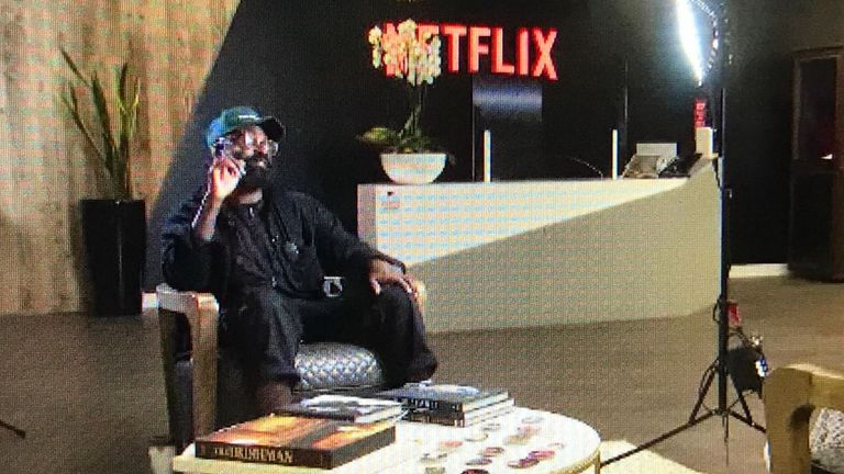 Adeyemi Michael helped curate Netflix's Black History Month collection. Pic: Netflix