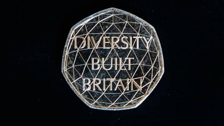 New 50p 'Diversity Built Britain' coin