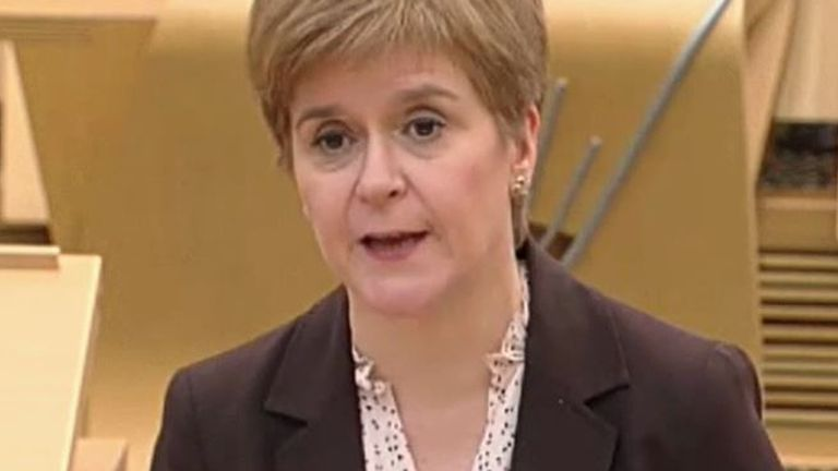 Nicola Sturgeon announces further restrictions to the hospitality sector