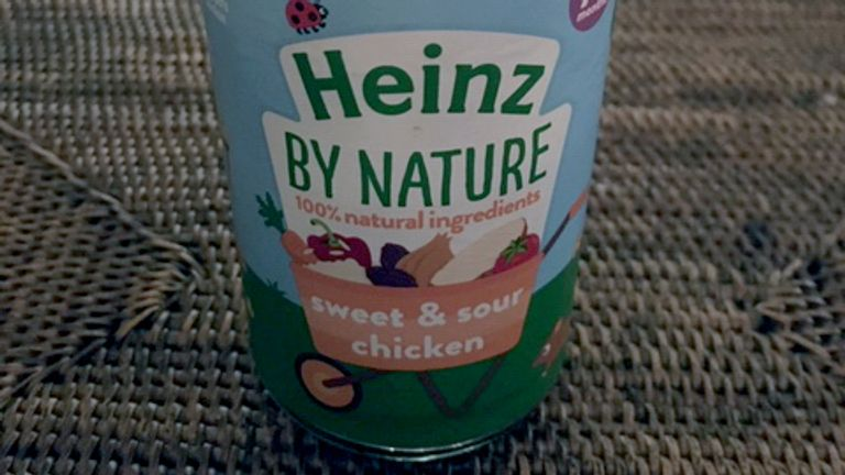 Shards of metal were planted in Heinz baby food