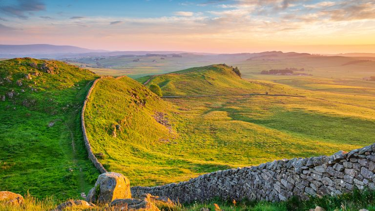 Northumberland, home to Hadrian's Wall, is the only place out of the current or prospective Tier 3 areas below England's average rate