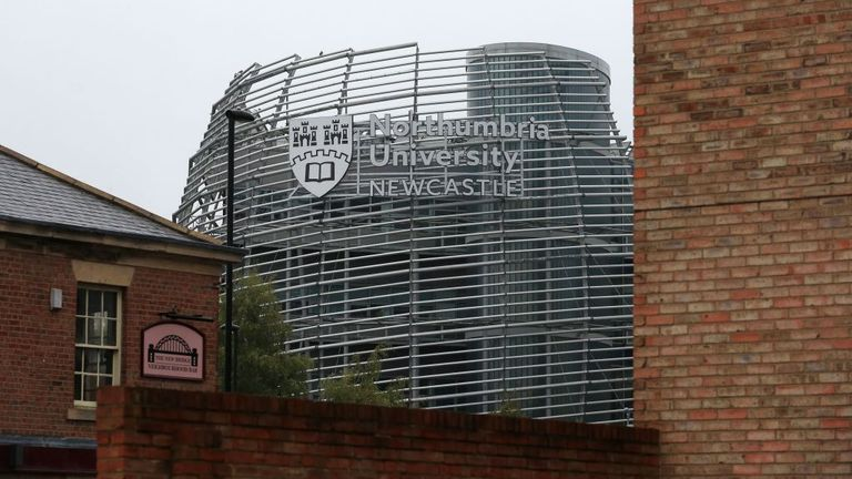 A student from Northumbria University also died
